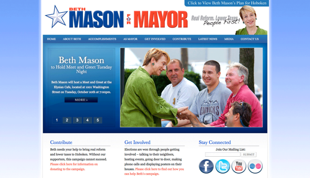 Mason for Mayor
